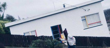 陡峭街道房屋的视错觉错误图片,看起来好惊险5
