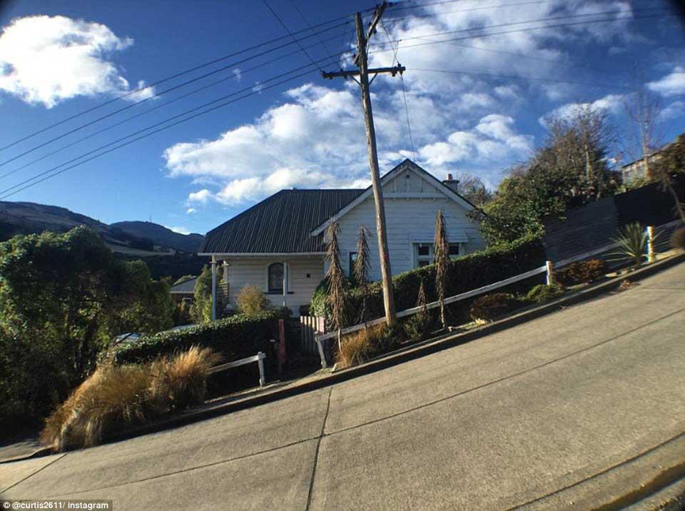 陡峭街道房屋的视错觉错误图片,看起来好惊险6