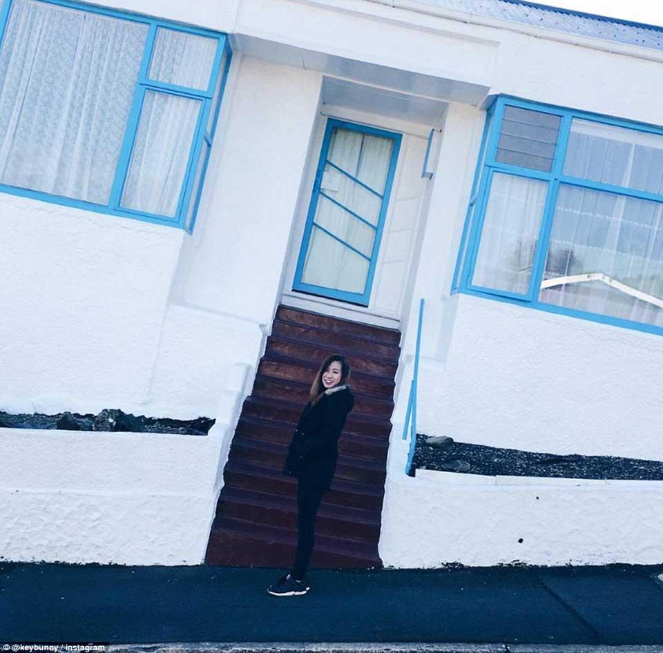 陡峭街道房屋的视错觉错误图片,看起来好惊险8