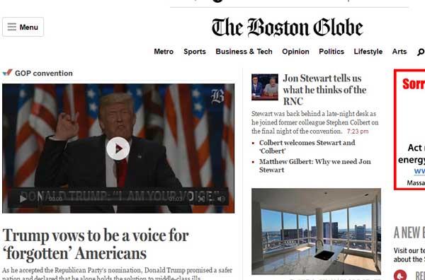 美国波士顿环球报