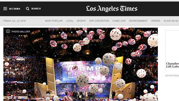 美国洛杉矶时报