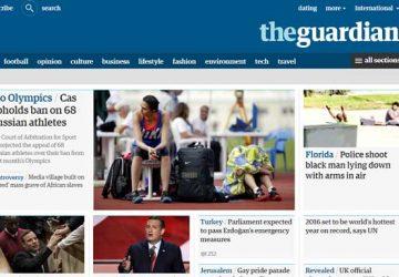 英国卫报网站The Guardian