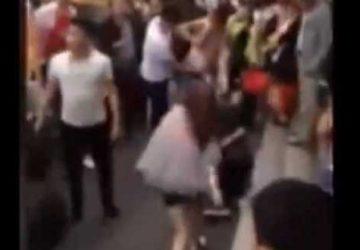 浙江台州路边市场男女群殴,真相一波三折