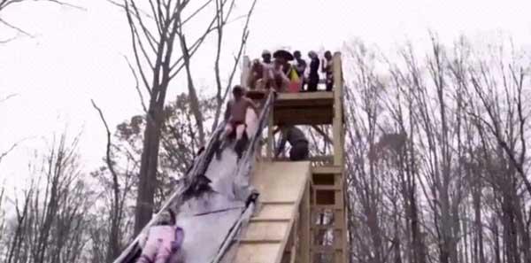 自制水滑梯1