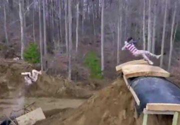 自制水滑梯2