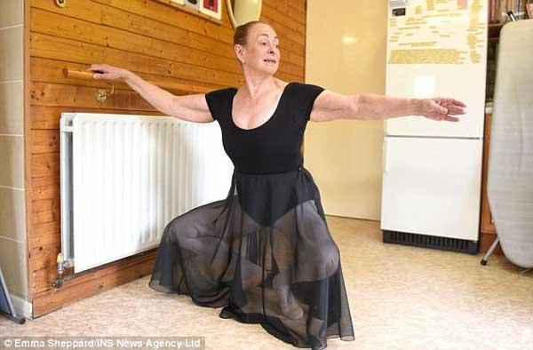 年纪最大的芭蕾舞者