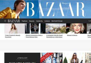 时尚芭莎杂志网站