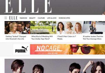 女性时尚杂志《ELLE》(ELLE她杂志)