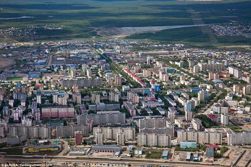 东西伯利亚米尔尼钻石城