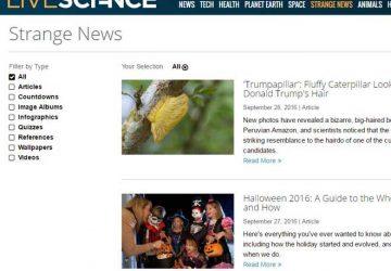 生活科学新奇新闻Strange News