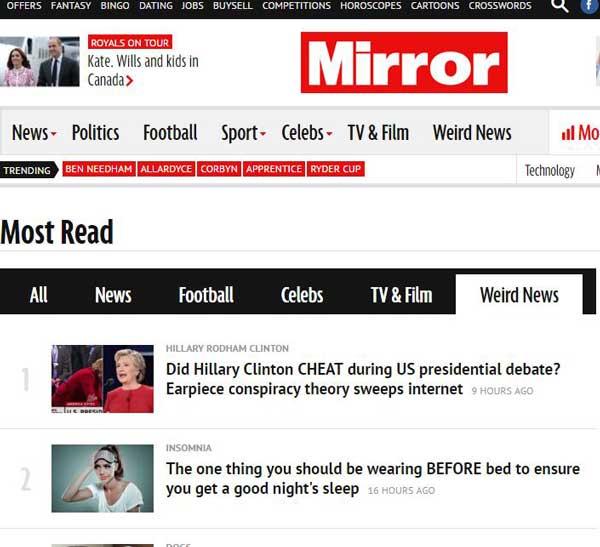 Weird新闻:全球新奇、搞笑、古怪的新闻事件