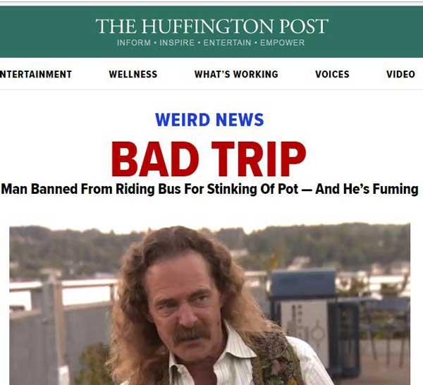赫芬顿邮报另类新闻:全球奇葩搞笑的新闻故事