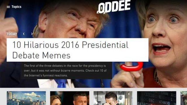 Oddee网站:猎奇娱乐博客,搜集一切新奇事物