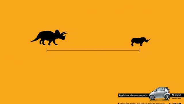 简洁不简单的平面广告设计作品
