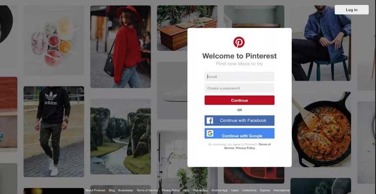 Pinterest网站